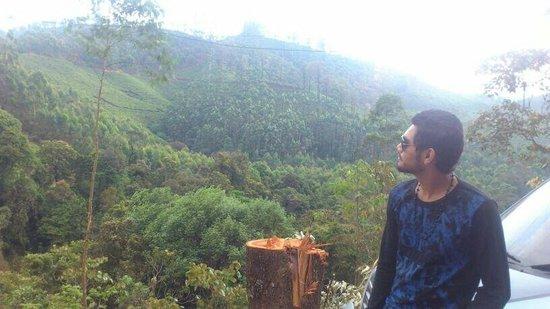 Top Station : fantastic view at top hill machu ksd