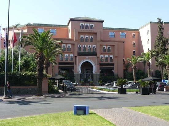 Sofitel Marrakech Lounge and Spa: Aussenansicht