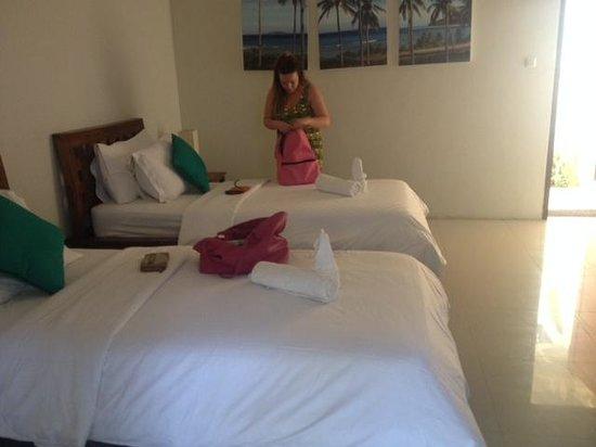 Tir Na Nóg Gili Trawangan Accommodation : Bedroom