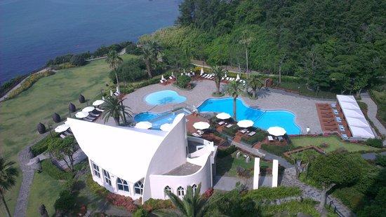 Hyatt Regency Jeju: View from balcony