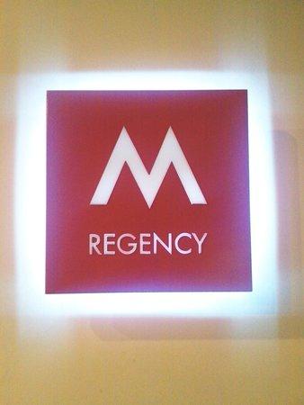M-Regency Makassar: m regency pintu masuk