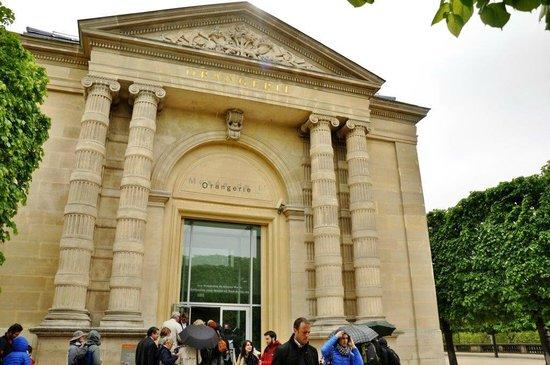 Museo de la Orangerie: Entrance