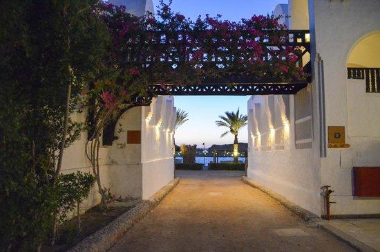 Arabella Azur Resort: Naar het strand