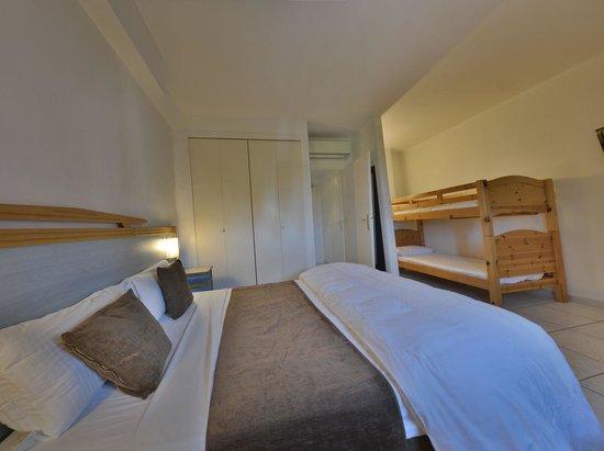 Hotel de la Mer : Chambre Quadruple