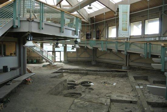 Mitchell Prehistoric Indian Village: dig site