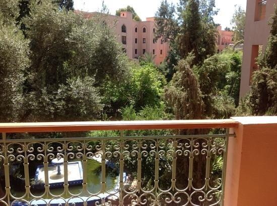 Sofitel Marrakech Lounge and Spa : Blick vom Zimmer 260