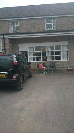 Staden Grange: Outside the family room