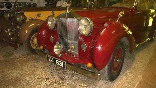 Kilgarvan motor museum: Rolls Royce