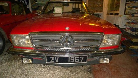 Kilgarvan motor museum: Red Merc