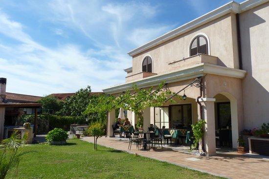Hotel La Perla: Frühstücksterrasse