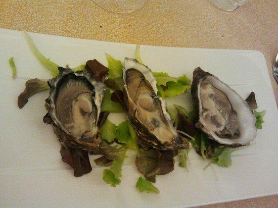 Tavernetta A Scuea: le tre ostriche