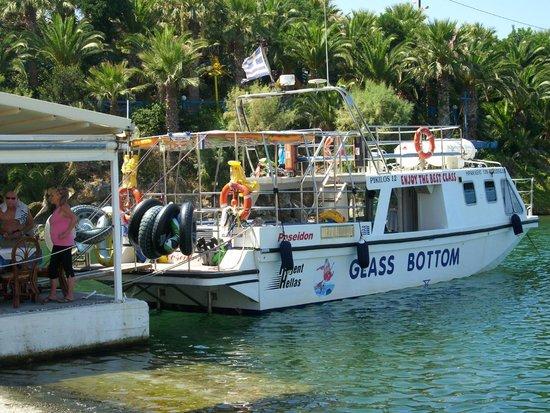 Glass Bottom Boat Poseidon Day Trips