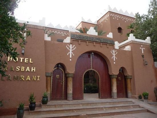 Hotel Kasbah Lamrani: Eingangsbereich
