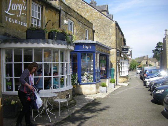 Stow-on-the-Wold, UK: Street view.