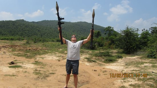 Cambodia Extreme Outdoor Shooting Range