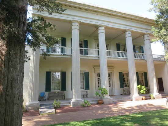 Andrew Jackson's Hermitage: Front of the home