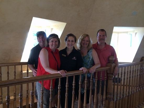 Konzelmann Estate Winery: pic with Mallory!