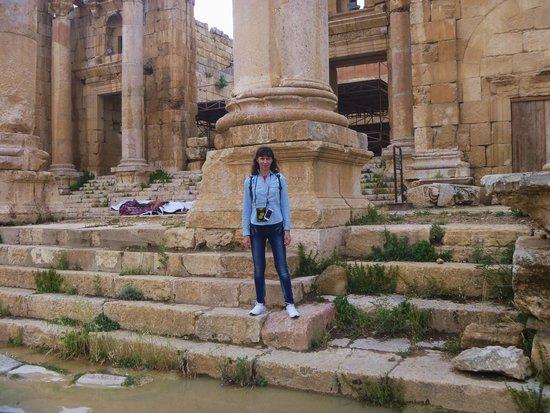 Ruinas de Jerash: Я в Джераше