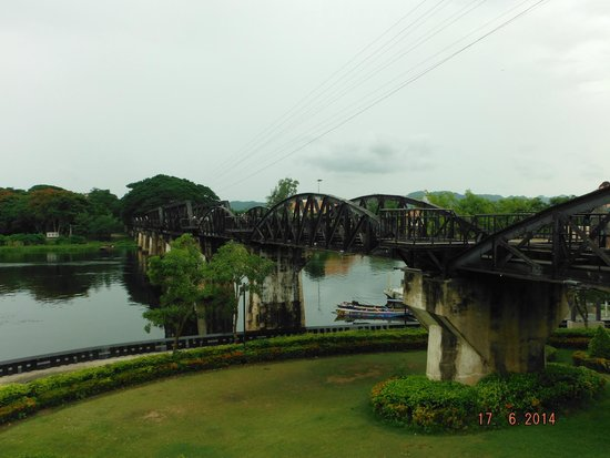 Thai-Burma Railway (Death Railway): Bridge over the river Kwai