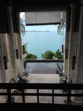 The Kala Samui : View from the Lobby/Entrance