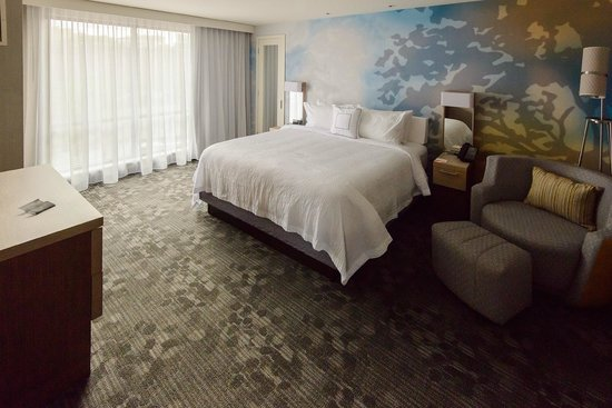 Courtyard Portland Downtown/Waterfront : King Suite 401