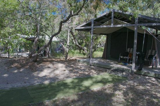 Great Keppel Island Holiday Village: The tents