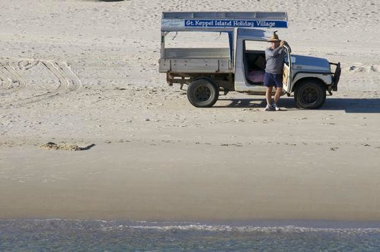 Great Keppel Island Holiday Village: Geoff expecting you