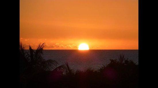 Angsana Balaclava Mauritius: Sun set