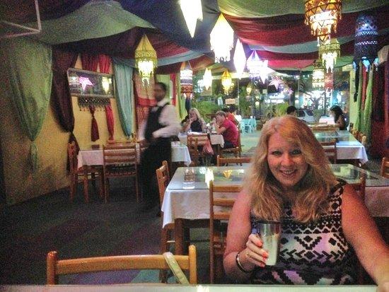 Papadam Ria: enjoying my great dinner in Langkawi