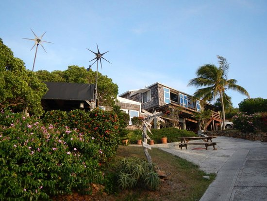 Virgin Islands Campground: main house, suite, and pavillion
