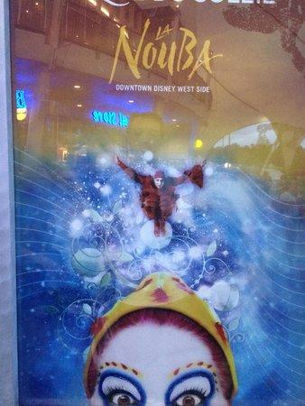 La Nouba - Cirque du Soleil - Orlando-FL.