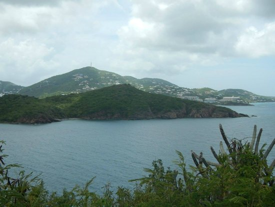 Virgin Islands Campground : view from front patio of the suite
