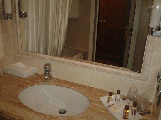 Sheraton Roma Hotel & Conference Center : Bathroom