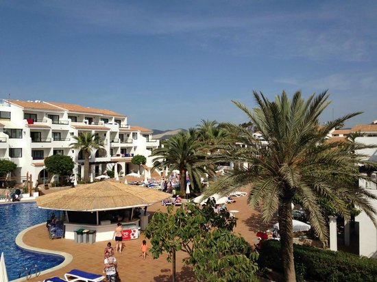 Hotel Club Bahamas Ibiza : View from our balcony