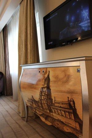 InterContinental Moscow Tverskaya Hotel: cupboard