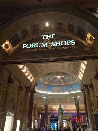 Caesars Palace : The forum shops