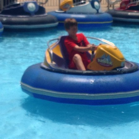 The Track Family Fun Parks: Bumper boats
