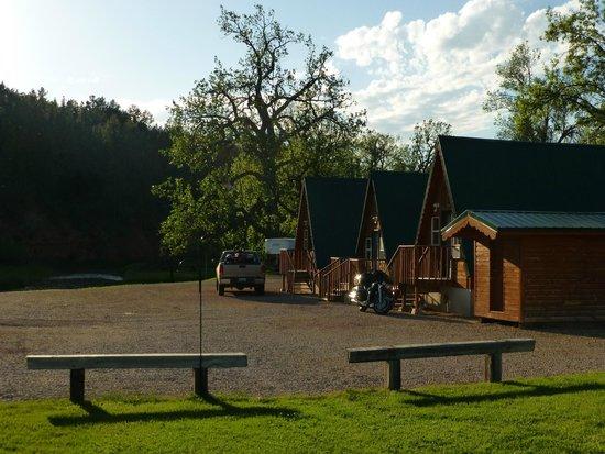 Hulett Motel: Cabins