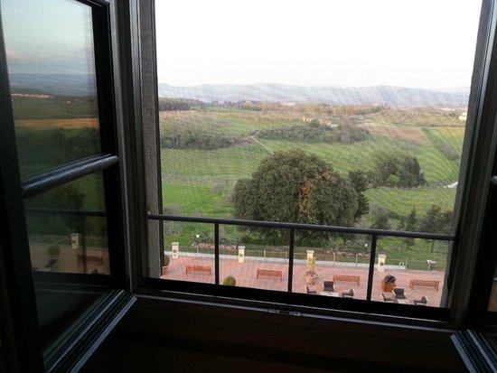 Castello del Nero Hotel & Spa: from our window