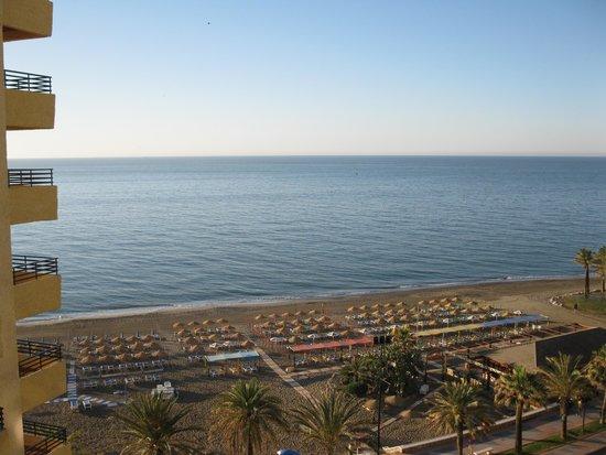Melia Costa del Sol: vue de la chambre au 7e étage