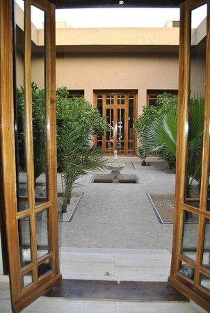 ClubHotel Riu Tikida Palmeraie : lobby garden