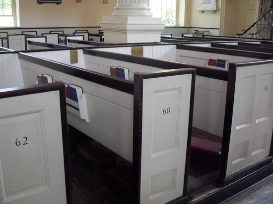 Christ Church : numbered pews