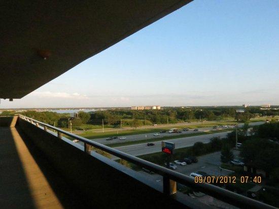 Rosen Inn at Pointe Orlando: Vista da varanda