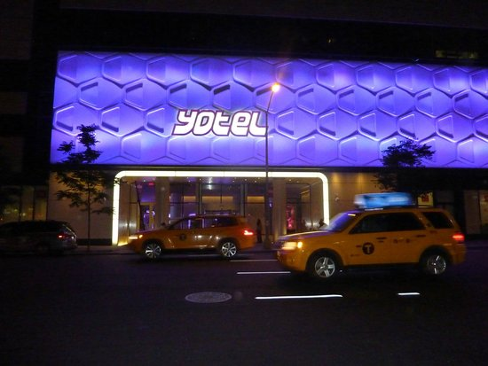 YOTEL New York at Times Square West: View from the street