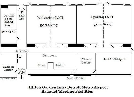 Meeting Space Diagram Picture Of Hilton Garden Inn