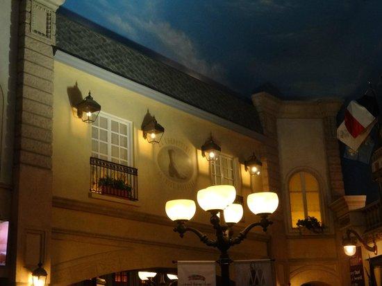 Paris Las Vegas: fachadas do cenário do hotel