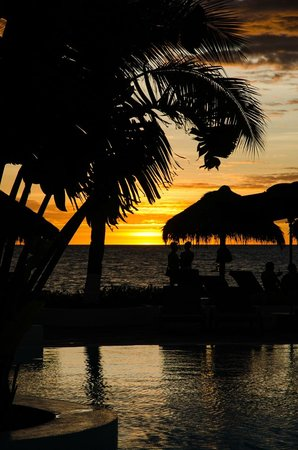 Andilana Beach Resort: tramonto