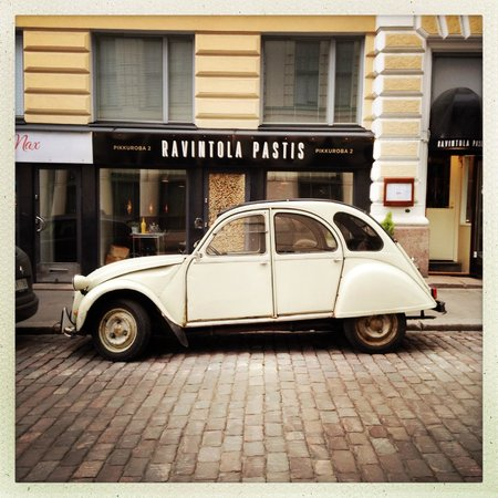 Restaurant Pastis: Outside