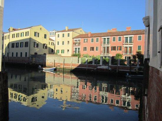 Hotel Giudecca Venezia: Early morning view from Domina Home