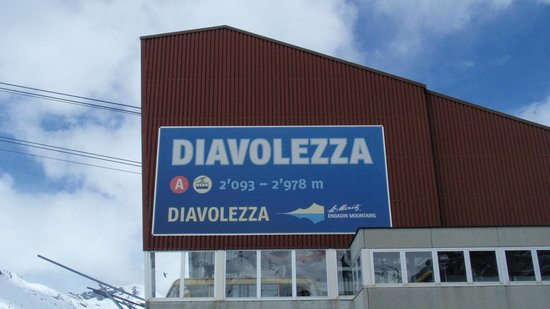 Diavolezza Cable Car Station